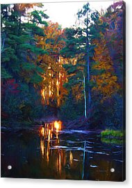 Ethereal Changing Light Acrylic Print