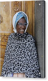 Ethiopia-south Orthodox Christian Woman Acrylic Print