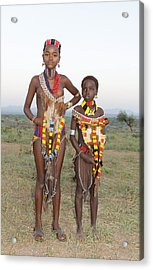 Ethiopia-south Sisters Acrylic Print