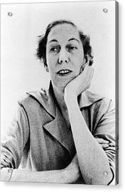 Eudora Welty 1909-2001, American Acrylic Print