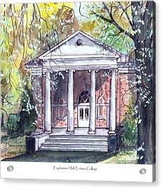 Euphemian Hall Acrylic Print