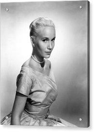 Eva Marie Saint, Ca. 1956 Acrylic Print by Everett