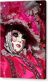 Eve In Pink Acrylic Print