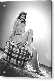 Evelyn Keyes, Mid-1940s Acrylic Print by Everett