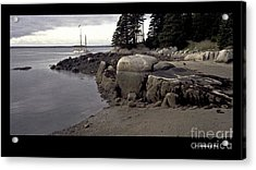 Evening Anchorage Acrylic Print