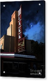 Evening At The Lark - Larkspur California - 5d18484 Acrylic Print by Wingsdomain Art and Photography