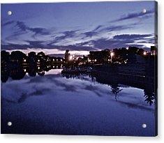 Evening Blues Acrylic Print by Joe  Burns