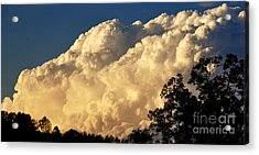 Evening Clouds Acrylic Print by Thomas R Fletcher