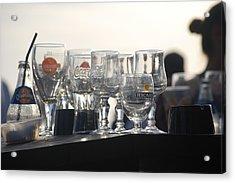 Evening Drinks Acrylic Print by Dickon Thompson