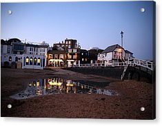 Evening In Broadstairs Acrylic Print by Jez C Self