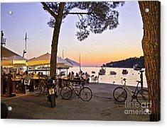 Evening In Rovinj Acrylic Print