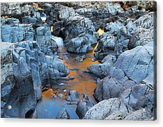 Evening Light On The Black River At Johnsons Shut Ins State Park IIi Acrylic Print by Greg Matchick