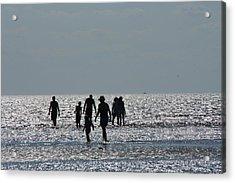 Evening Ocean Stroll Acrylic Print