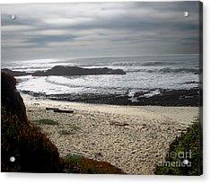 Evening Ocean Surf Acrylic Print by The Kepharts