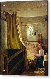 Evening Prayer  Acrylic Print by John Bagnold Burgess