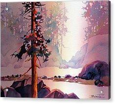 Evening Quiet Acrylic Print
