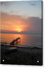 Evening Rest Acrylic Print