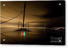 Evening Sail Acrylic Print by Matt Tilghman