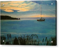 Evensong Acrylic Print by Charlie Harris