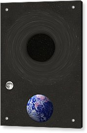 Event Horizon Acrylic Print by Eric Kempson