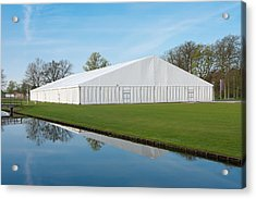 Acrylic Print featuring the photograph Event Tent by Hans Engbers