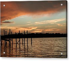 Everglades Sunset Acrylic Print