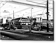 Everybody Goes To Melrose - The Melrose Diner - Philadelphia Acrylic Print by Bill Cannon