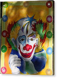 Everybody Loves A Clown Acrylic Print