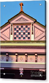 Everything Pink Acrylic Print by Jeanne  Woods
