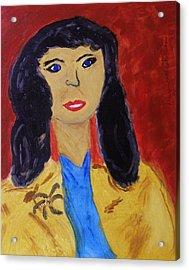 Everywoman Acrylic Print by Mary Carol Williams