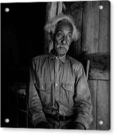 Ex-slave Bob Lemmons Was Born Acrylic Print by Everett