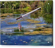 Excalibur Acrylic Print by Dominic Piperata