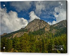 Exfoliation Dome Of Macgregor Mountain Acrylic Print by Harry Strharsky