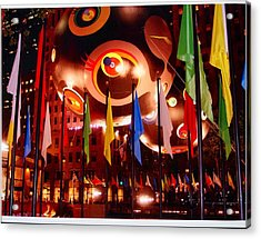 Exhibit At Rockefeller Center Acrylic Print by Alton  Brothers