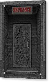 Exit Acrylic Print by Jerry Cordeiro