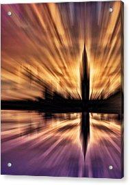Exploding Powers Acrylic Print by Sharon Lisa Clarke