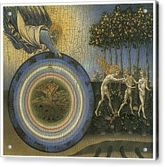 Expulsion From Paradise Acrylic Print by Giovanni Di Paolo