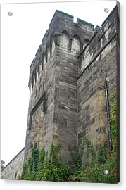 Exterior Wall Acrylic Print by Christophe Ennis