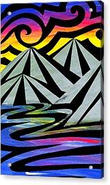 Extreme Alps Acrylic Print by Roseanne Jones