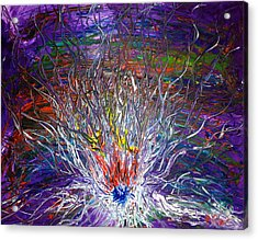 Eye Eruption Acrylic Print by Pretchill Smith