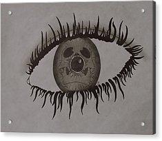 eye Acrylic Print by Gary Southard