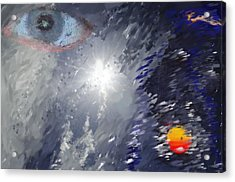 Eye In The Sky Acrylic Print by Mark Stidham