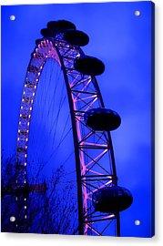 Eye Of London Acrylic Print by Roberto Alamino