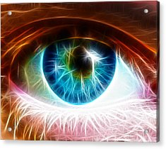 Eye Acrylic Print by Paul Van Scott