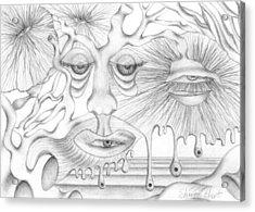 Eye Spies Acrylic Print by Sharon Ebert