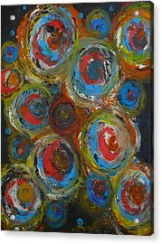 Acrylic Print featuring the painting Eyeball by Everette McMahan jr