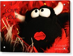 Acrylic Print featuring the photograph Eyes For You by Leslie Leda