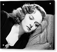 Eyes In The Night, Donna Reed, 1942 Acrylic Print by Everett