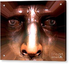 Acrylic Print featuring the photograph Eyes Of Liberty by Anne Raczkowski