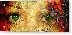 Eyes Of The Beheld Acrylic Print by Brett Pfister